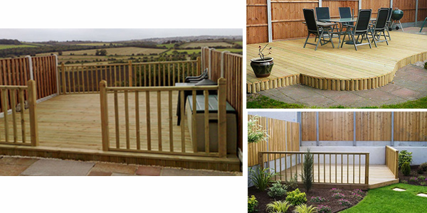 garden decking garden decking mjt carpentry